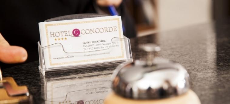 Hotel Concorde: Réception SARONNO - VARESE