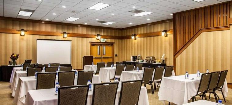 Hotel Quality Inn & Suites Seattle Center: Sala Riunioni SEATTLE (WA)