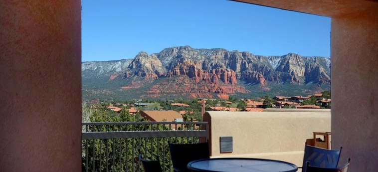 Hotel Sky Rock Inn Of Sedona: Sundeck SEDONA (AZ)