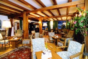 Hotel Alpina: Lobby SEEFELD