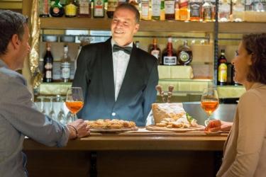 Hotel Residence Antares: Bar del hotel SELVA DI VAL GARDENA - BOLZANO