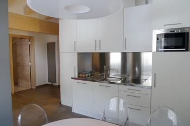 Hotel Residence Antares: Cocina en la habitacion SELVA DI VAL GARDENA - BOLZANO