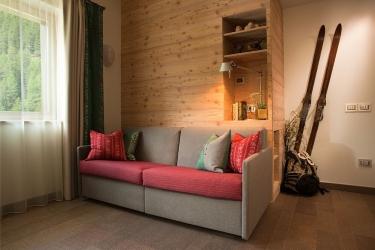 Hotel Residence Antares: Sala de estar SELVA DI VAL GARDENA - BOLZANO