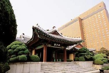 Hotel Shilla: Außen SEOUL