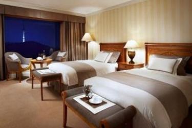 Hotel Shilla: Deluxe Zimmer SEOUL