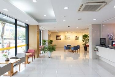 Benikea Hotel Flower: Cuarto de Baño - Suite SEOUL
