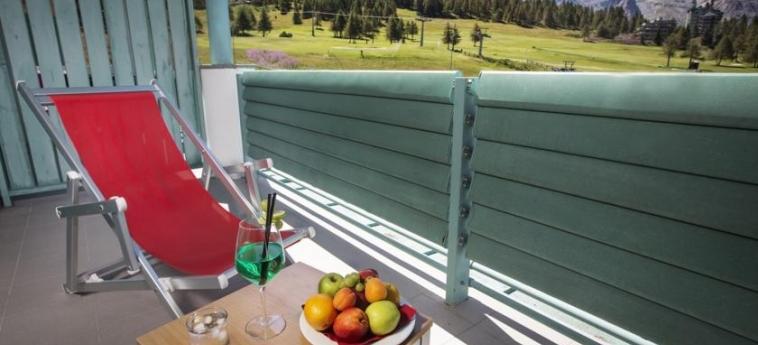 Hotel Villaggio Olimpico Sestriere: Balcone SESTRIERE - TORINO