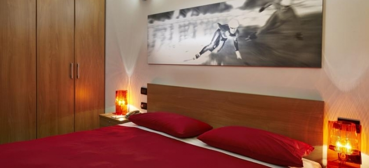 Hotel Villaggio Olimpico Sestriere: Schlafzimmer SESTRIERE - TORINO