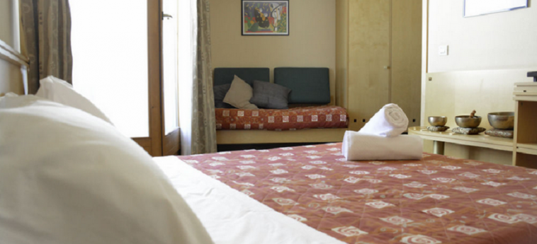 Hotel Uappala Sestriere: Chambre Double SESTRIERE - TORINO