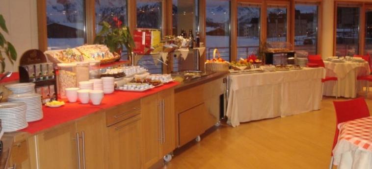 Hotel Lago Losetta: Salle de Petit Déjeuner SESTRIERE - TORINO