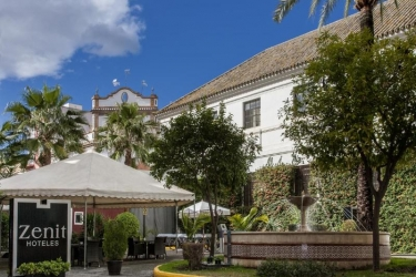 Hotel Zenit Sevilla: Terraza SEVILLA