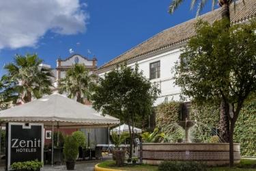 Hotel Zenit Sevilla: Terrasse SEVILLA