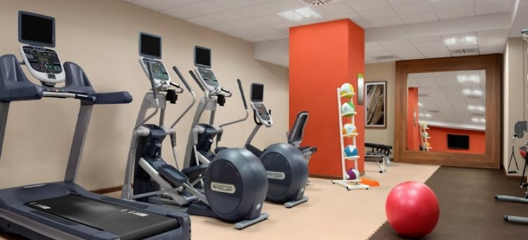 Hotel Hilton Garden Inn Sevilla: Gym SEVILLE