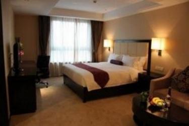 Hotel Xuhui International Executive Suites Shanghai: Schlafzimmer SHANGHAI