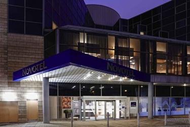 Hotel Novotel Sheffield Centre: Hotel Front - Evening/Night SHEFFIELD