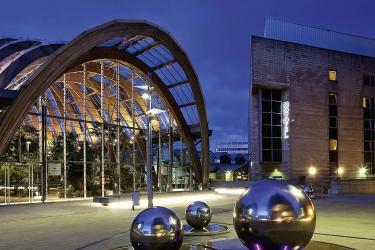 Hotel Novotel Sheffield Centre: Hotel front SHEFFIELD