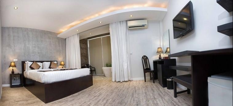 Hotel New Hill Resort & Spa: Roof Garden SIHANOUKVILLE