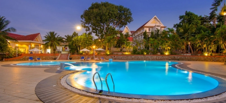 Hotel New Hill Resort & Spa: Chambre - Detail SIHANOUKVILLE