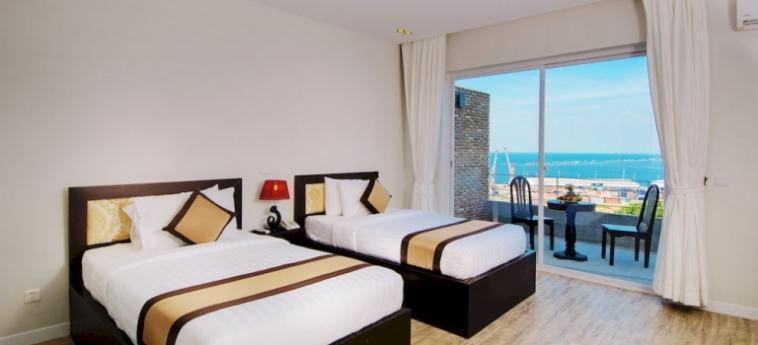 Hotel New Hill Resort & Spa: Chambre executive SIHANOUKVILLE