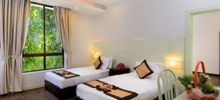 Hotel New Hill Resort & Spa: Chambre junior Suite  SIHANOUKVILLE