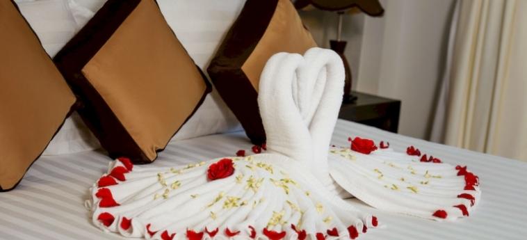 Hotel New Hill Resort & Spa: Bunk-Bed Room SIHANOUKVILLE