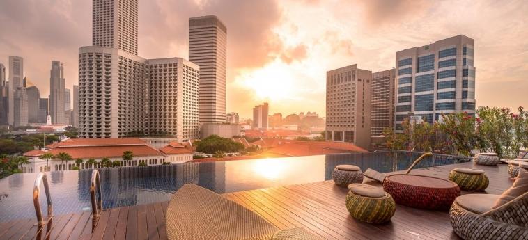 Hotel Naumi: Terraza SINGAPORE