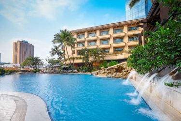 Hotel Swissotel Merchant Court: Piscina SINGAPORE