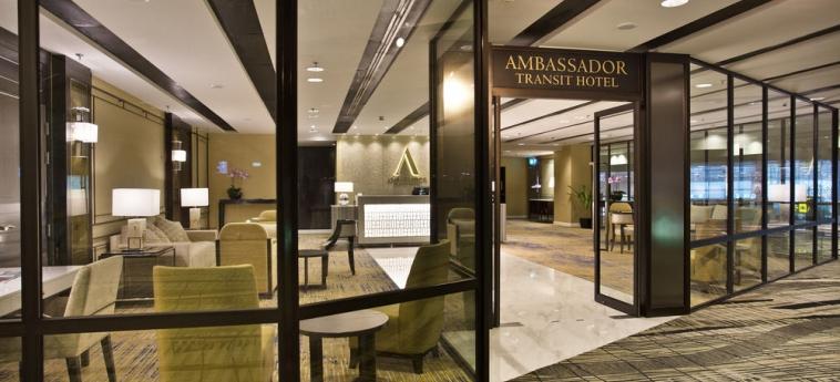 Ambassador Transit Hotel - Terminal 3: Hotel Davor-Abend/Nacht SINGAPUR