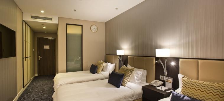 Ambassador Transit Hotel - Terminal 3: Gastzimmer Blick SINGAPUR