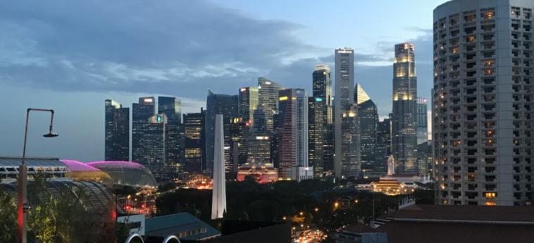Hotel Naumi: Aussicht SINGAPUR