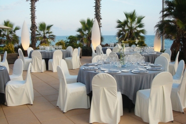 Hotel Sunway Playa Golf Sitges: Restaurant SITGES