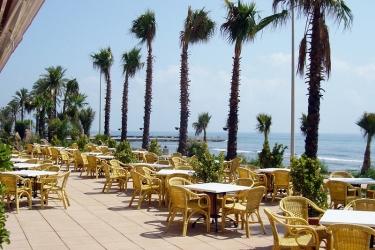 Hotel Sunway Playa Golf Sitges: Terrasse SITGES
