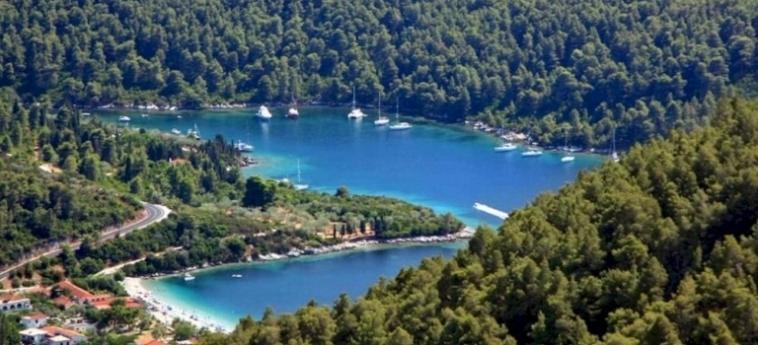 Hotel Blue Green Bay: Aerial View SKOPELOS