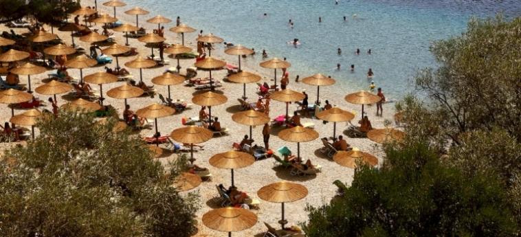 Hotel Blue Green Bay: Strand SKOPELOS