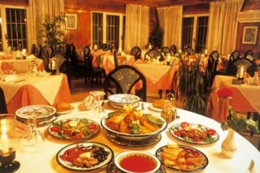 Hotel Abou Nawas Nejma: Restaurant SOUSSE