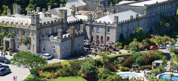 Hotel Tregenna Castle: View from Hotel St Ives