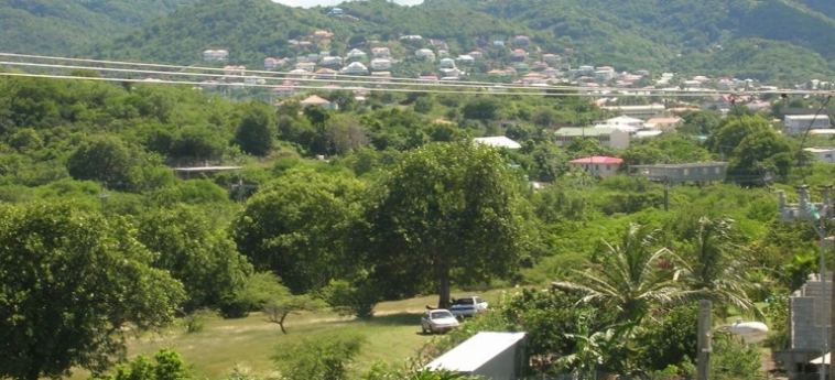 Hotel Belle Kaye: Caminetto ST LUCIA