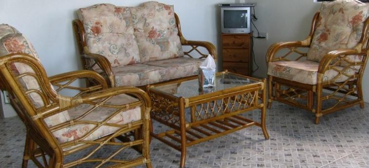 Hotel Belle Kaye: Living Room ST LUCIA