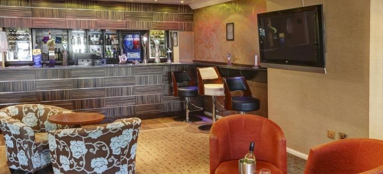 Hotel Best Western Tillington Hall: Bar STAFFORD