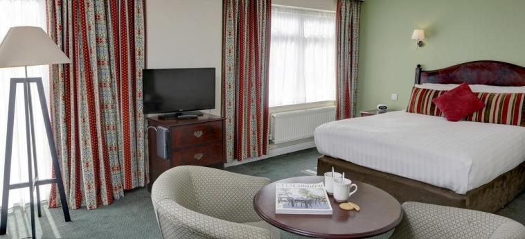 Hotel Best Western Tillington Hall: Bedroom STAFFORD