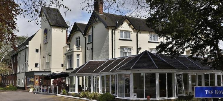 Hotel Best Western Tillington Hall: Exterior STAFFORD