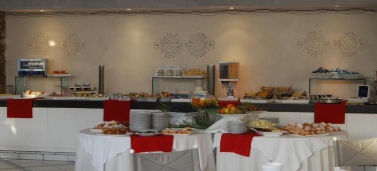 Club Hotel Ancora: Salle de Petit Déjeuner STINTINO - SASSARI