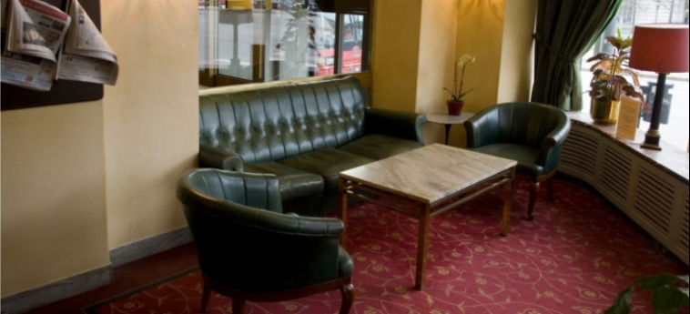 Hotel Terminus: Lobby STOCCOLMA