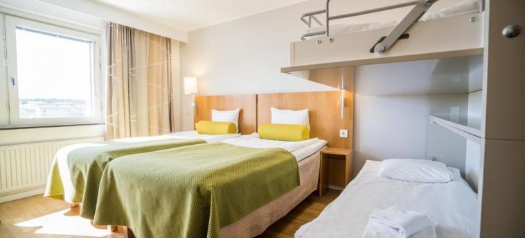 Hotel Scandic Jarva Krog: Camera con letti a castello STOCCOLMA