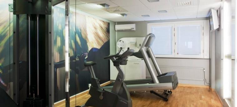 Hotel Scandic Jarva Krog: Salle de Gym STOCKHOLM