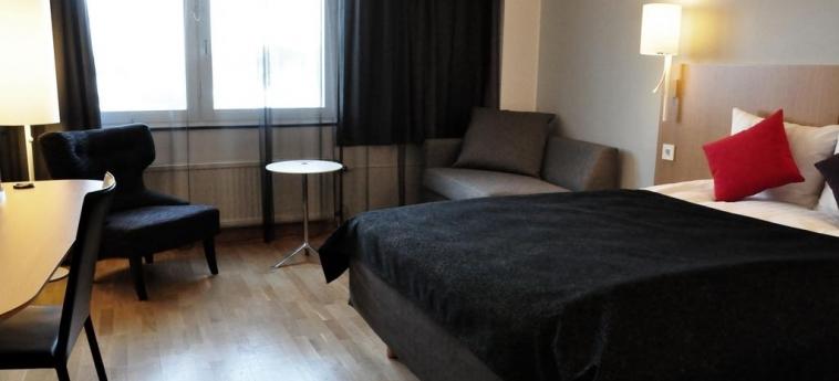 Hotel Scandic Jarva Krog: Bedroom STOCKHOLM