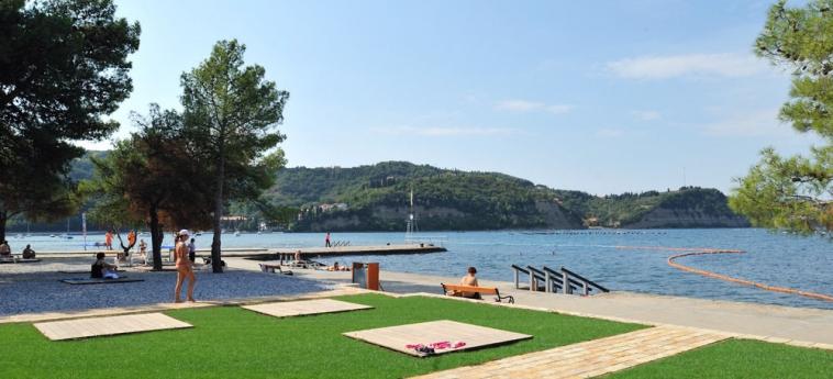 Hotel Vile - Terme Krka: Patio STRUNJAN