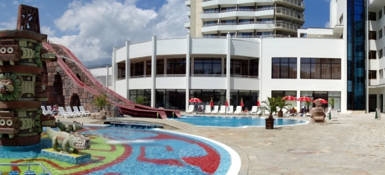 Hotel Kuban Resort & Aquapark: Exterior SUNNY BEACH