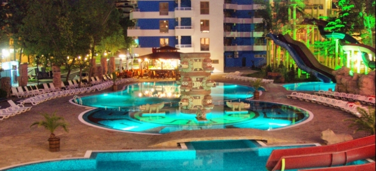 Hotel Kuban Resort & Aquapark: Swimming Pool SUNNY BEACH