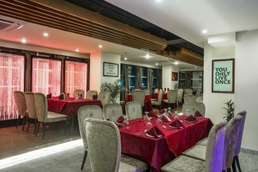 Hotel Noorjahan Grand: Cena in famiglia SYLHET
